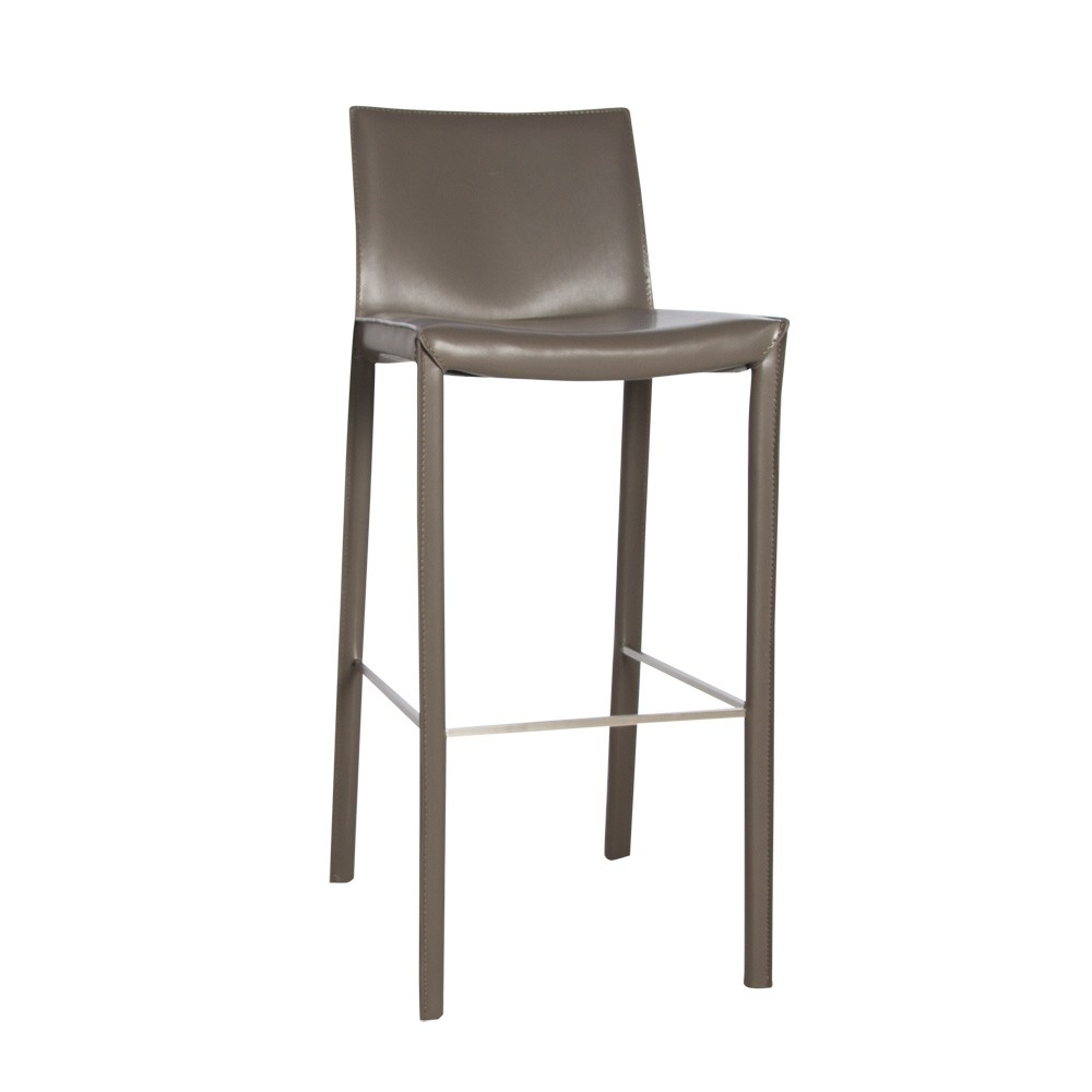 Stool Emma Bar Grey 3Q small