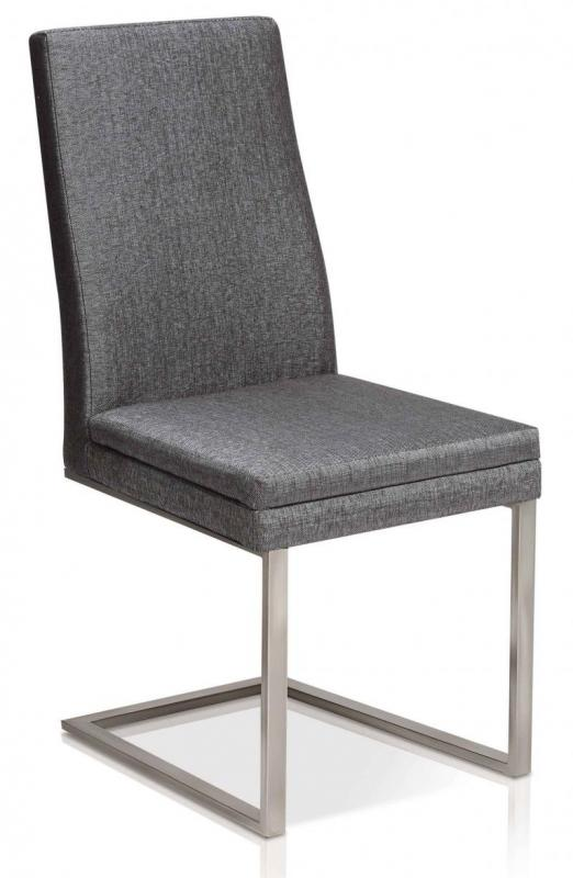 Strata Side Chair Fabric Grey