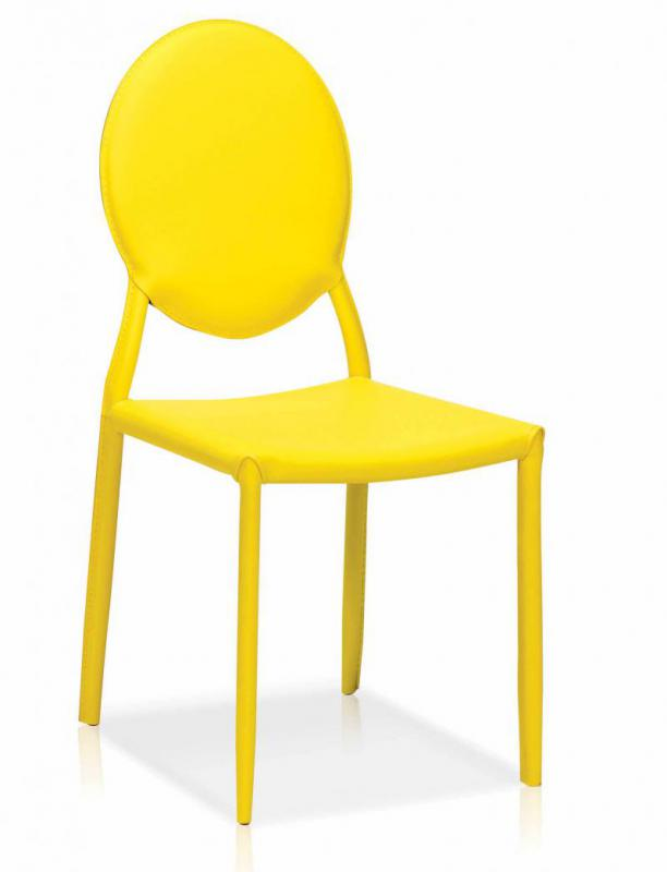 Tobie Side Chair Yellow