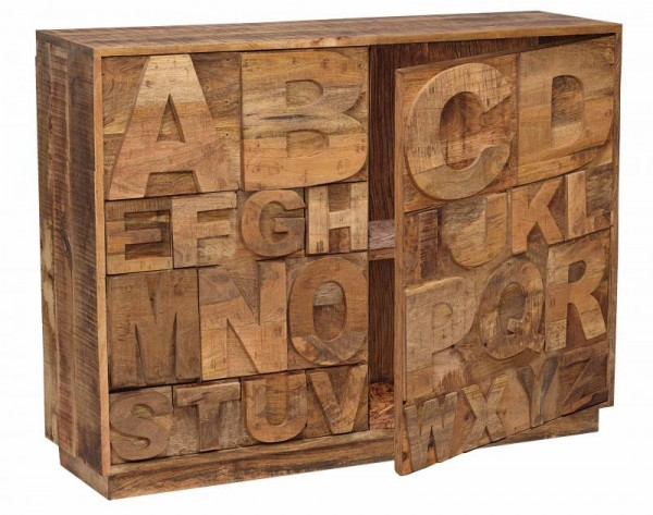 2.Lulu Alphabet Sideboard